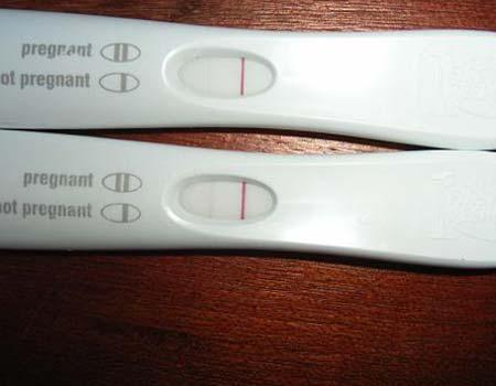Может ли при беременности тест показывать отрицательно
