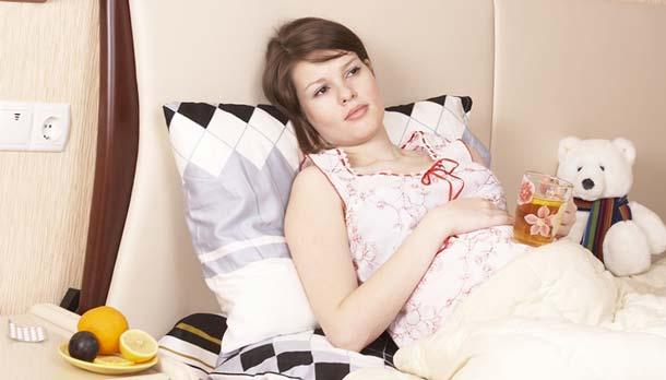 Поздний токсикоз при беременности на каком 18