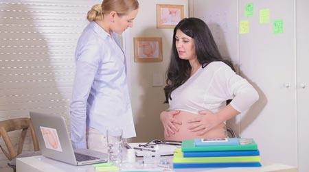 При беременности болит яичник 44