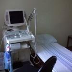 в клинике