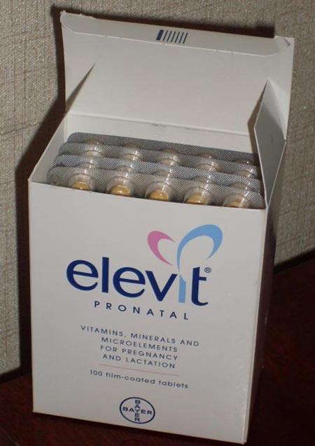 Срок беременности элевит