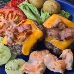 блюдо с овощами