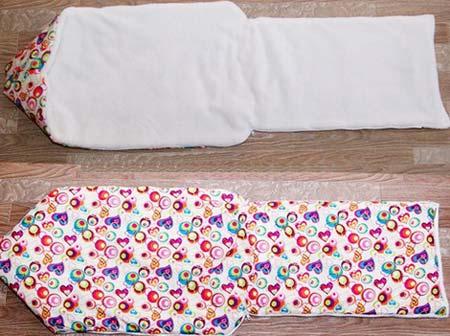 sami Как сшить зимний утепленный конверт для новорожденного