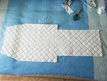 shema-1 Как сшить зимний утепленный конверт для новорожденного