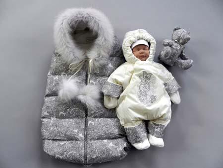 zimnii Как сшить зимний утепленный конверт для новорожденного