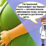 Опасность гестационного пиелонефрита при беременности